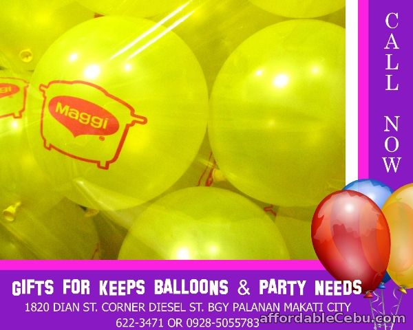 1st picture of Customized Balloon Printing For Sale in Cebu, Philippines