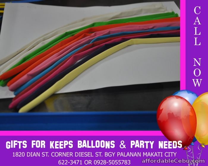1st picture of Long Balloons Wholesale Size 260s (per 100 pcs) For Sale in Cebu, Philippines
