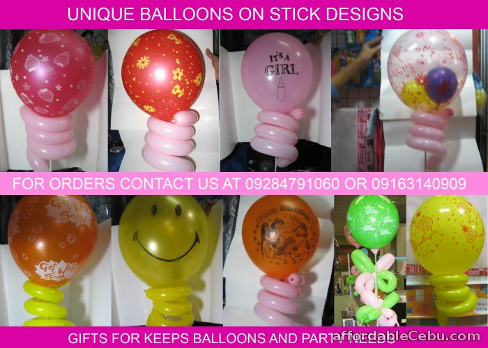 1st picture of Balloons on stick For Sale in Cebu, Philippines