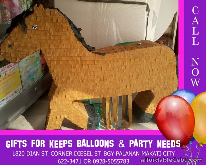 1st picture of Crepe Design Horse Pinata For Sale in Cebu, Philippines