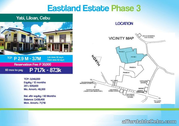 2nd picture of House for sale at EASTLAND ESTATE Phase 3 Yati, Liloan, Cebu For Sale in Cebu, Philippines