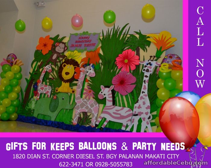 1st picture of Safari Theme Styro Decoration For Rent in Cebu, Philippines
