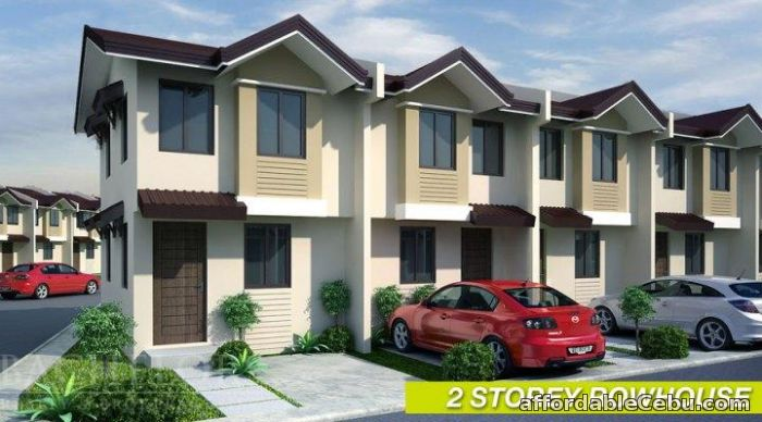 2nd picture of Summerville 3 Subdivision Townhouses For Sale in Cebu, Philippines
