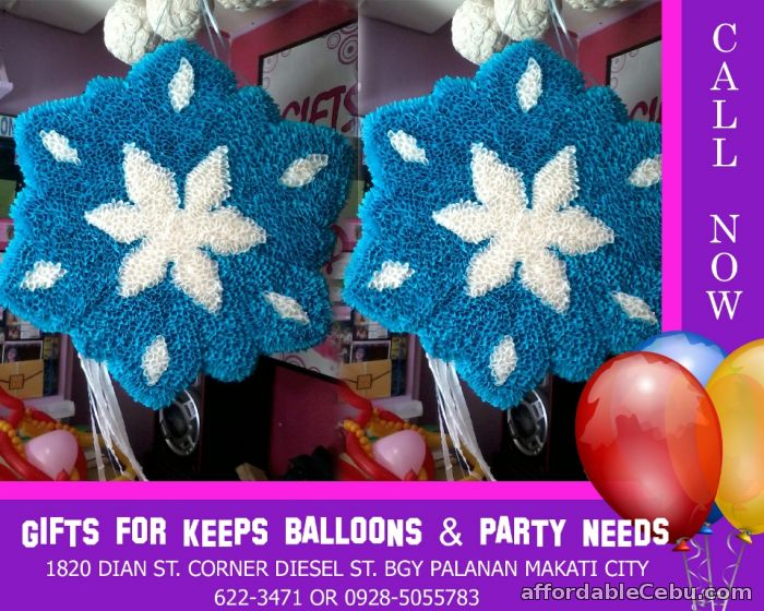 1st picture of Snow Flakes Design Styro Pinata For Sale in Cebu, Philippines