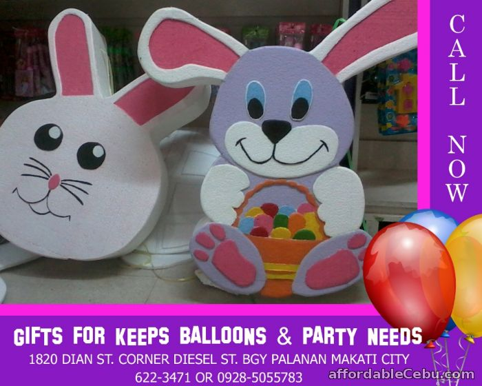 1st picture of Easter Rabbit Design Styro Pinata For Sale in Cebu, Philippines