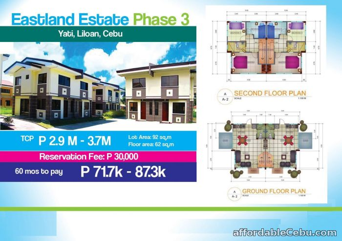 1st picture of House for sale at EASTLAND ESTATE Phase 3 Yati, Liloan, Cebu For Sale in Cebu, Philippines