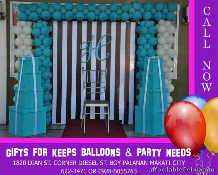1st picture of Tiffany and Co Themed Birthday Decoration For Rent in Cebu, Philippines