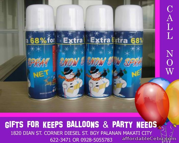 1st picture of Party Snow Spray For Sale in Cebu, Philippines
