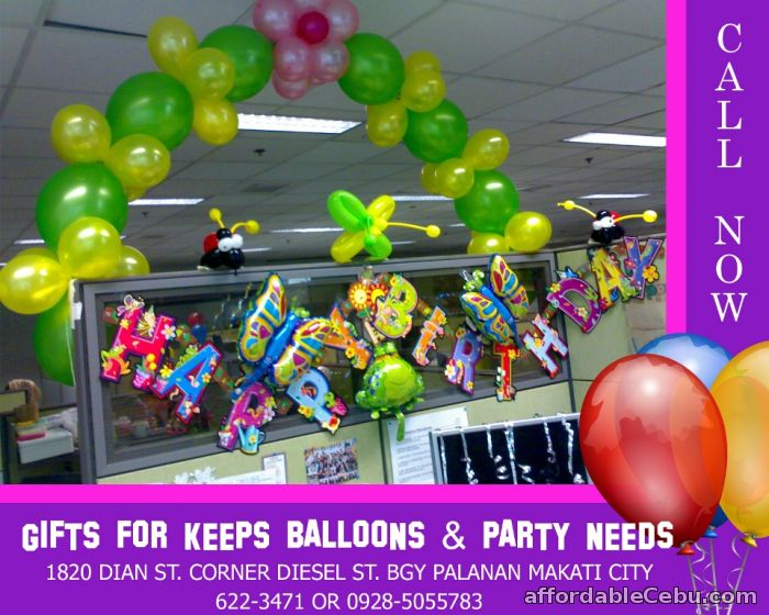 1st picture of Office Balloon Set-up For Sale in Cebu, Philippines