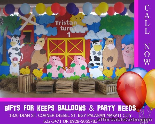 1st picture of Barn Theme Styro Decoration For Rent in Cebu, Philippines