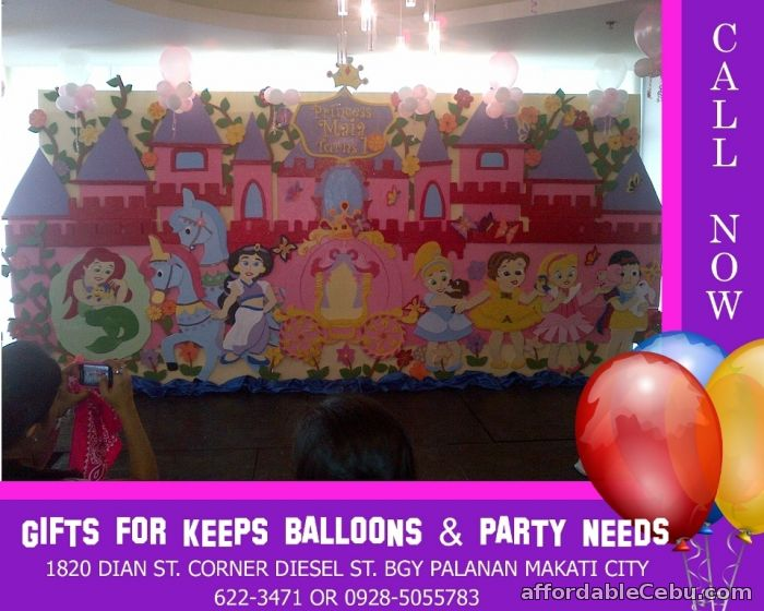 1st picture of Disney Baby Princess Styro Decoration For Rent in Cebu, Philippines