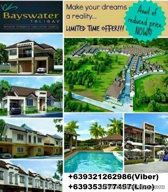 1st picture of House for sale at BAYSWATER-GUMAMELA Talisay City Cebu For Sale in Cebu, Philippines