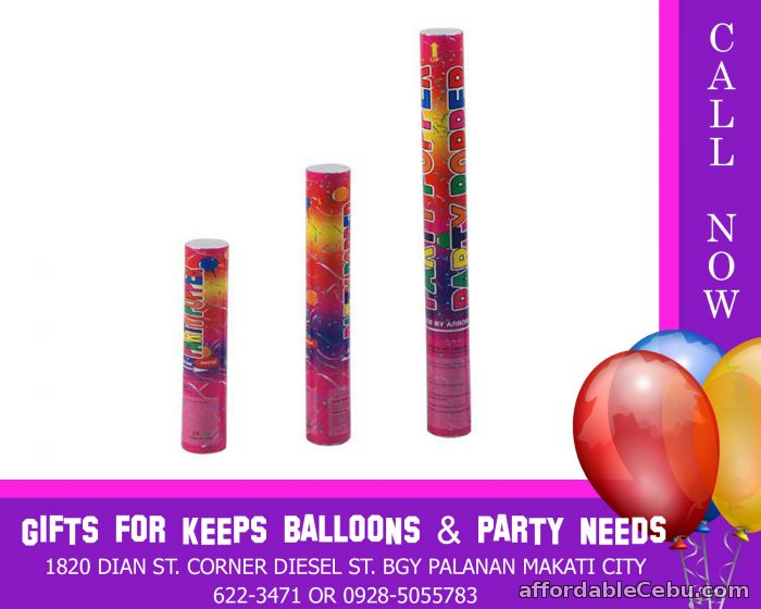 1st picture of Party Poppers For Sale in Cebu, Philippines