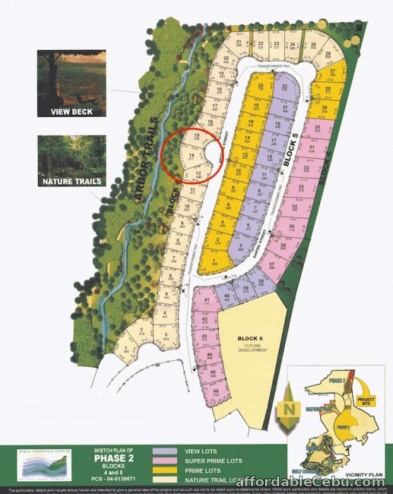 3rd picture of Ayala Greenfield Estates Bay View Lot in Phase 2 For Sale in Cebu, Philippines