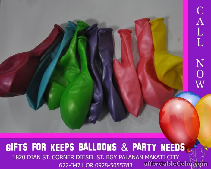 1st picture of Wholesale Round Balloons Size 12 (100 pcs minimum) For Sale in Cebu, Philippines