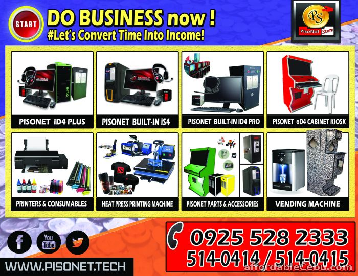 1st picture of Pisonet Business Provider For Sale in Cebu, Philippines