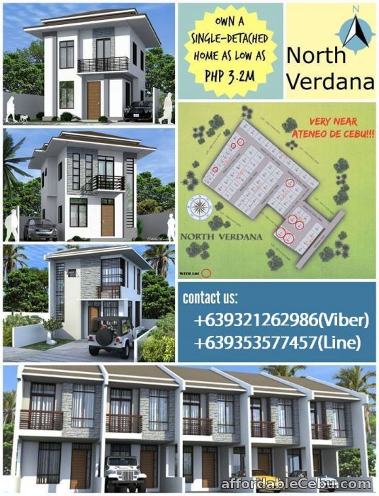 1st picture of house and lot for sale in talamban cebu php. 2 million For Sale in Cebu, Philippines