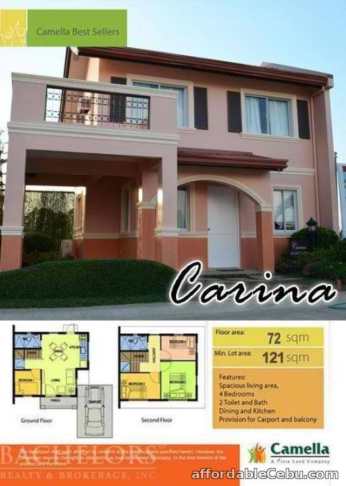 3rd picture of Talamban Pit-os House Camella Riverscapes Carina Model Cebu City For Sale in Cebu, Philippines