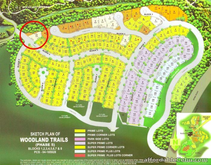 4th picture of Ayala Greenfield Estates Lot beside Open Space for sale For Sale in Cebu, Philippines