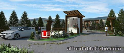 1st picture of Mandaue LeGrand Heights at Tawason, Mandaue, Cebu Lilly Model For Sale in Cebu, Philippines