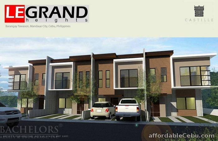 3rd picture of Mandaue LeGrand Heights at Tawason, Mandaue, Cebu Lilly Model For Sale in Cebu, Philippines