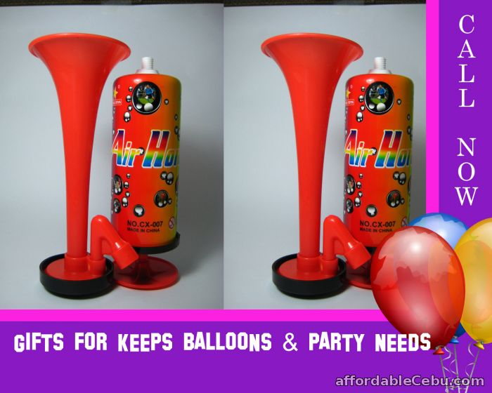1st picture of Party Airhorn (Wholesale) minimum of 10 pcs For Sale in Cebu, Philippines