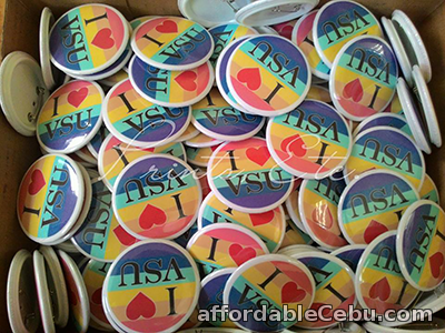 1st picture of Personalized Button Pins For Parties & Events For Sale in Cebu, Philippines