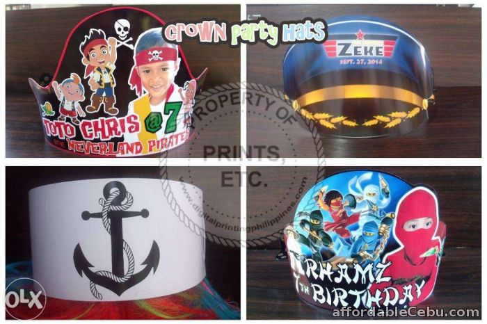 1st picture of Personalized Party Hats For Events & Giveaways For Sale in Cebu, Philippines
