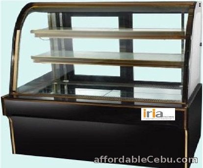 1st picture of CAKE CHILLER DISPLAY SHOWCASE (floor type, curve glass, 4ft) For Sale in Cebu, Philippines