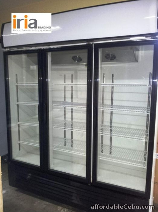 1st picture of UPRIGHT CHILLER DISPLAY SHOWCASE (3Doors) For Sale in Cebu, Philippines