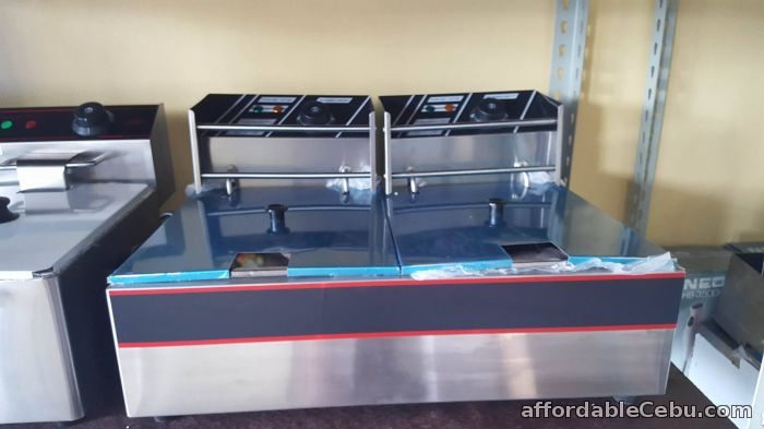 1st picture of ELECTRIC DOUBLE DEEP FRYER for SALE!!! For Sale in Cebu, Philippines