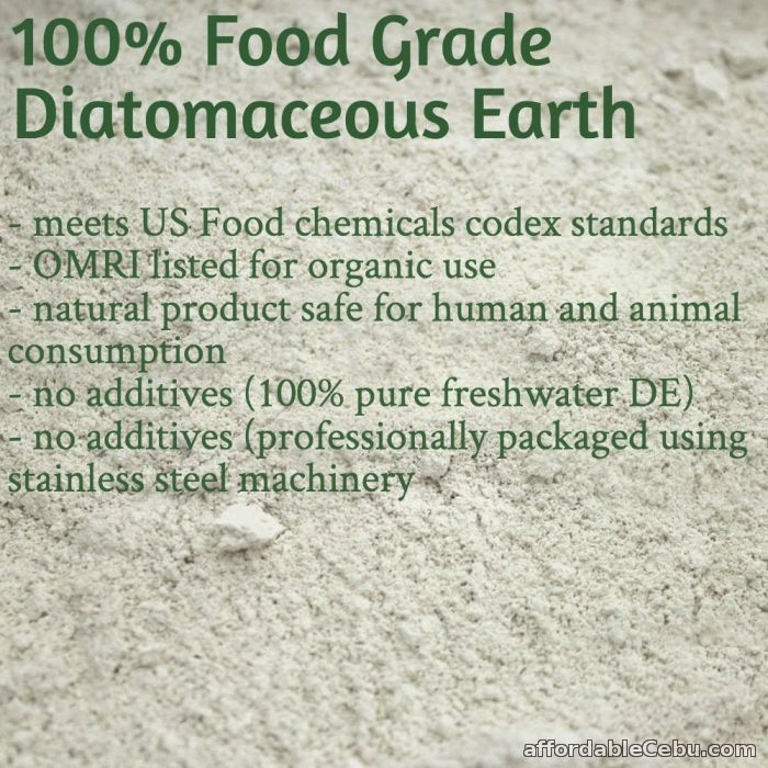3rd picture of Diatomaceous Earth Food Grade (10 Lbs) For Sale in Cebu, Philippines