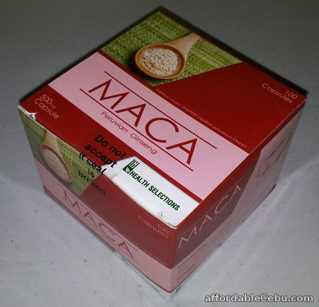 1st picture of MACA for men and women for SALE!!! For Sale in Cebu, Philippines