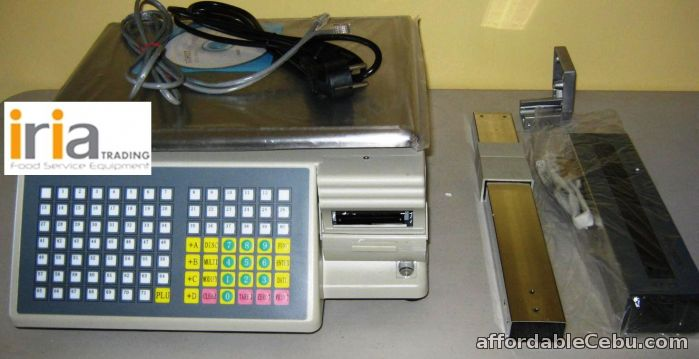 1st picture of WEIGHING SCALE with BARCODE PRINTING for SALE!!! For Sale in Cebu, Philippines