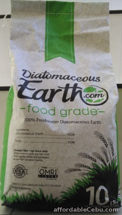 1st picture of Diatomaceous Earth Food Grade (10 Lbs) For Sale in Cebu, Philippines