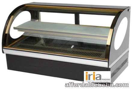 1st picture of CAKE CHILLER SHOWCASE (Countertop, Curve glass) For Sale in Cebu, Philippines