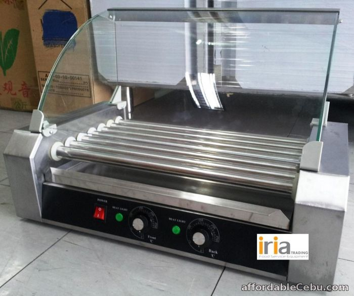 1st picture of HOTDOG ROLLER / HOTDOG GRILLER w/ Glass Cover for BUSINESS!! For Sale in Cebu, Philippines