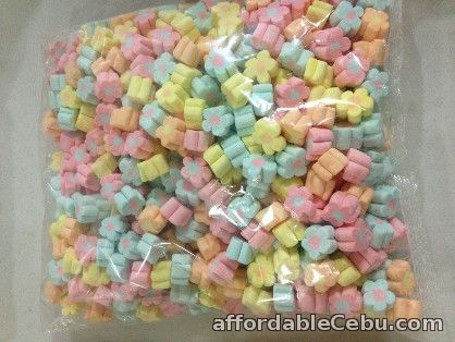 1st picture of Floral Shaped Mallows Assorted Flavor (Wholesale) For Sale in Cebu, Philippines