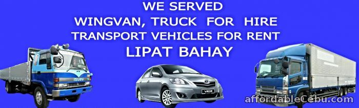 1st picture of Lipat Bahay, Tourist Van, SUV, Car and Truck Rental For Rent in Cebu, Philippines