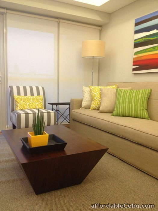 1st picture of FOR LEASE: Manansala Rockwell 1 BR Fully Furnished For Rent in Cebu, Philippines