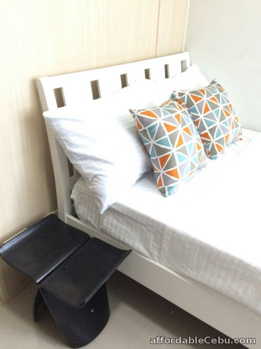 1st picture of FOR LEASE: Jazz Residences Fully Furnished Studio Unit For Rent in Cebu, Philippines