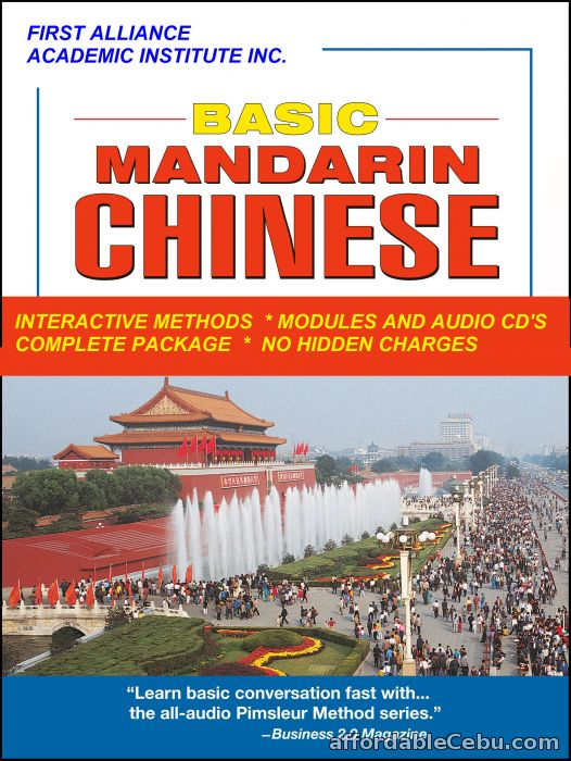 1st picture of Why and how to learn Mandarin? Looking For in Cebu, Philippines