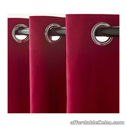 3rd picture of Sanela Curtains - Dark Pink (Product of Sweden) For Sale in Cebu, Philippines