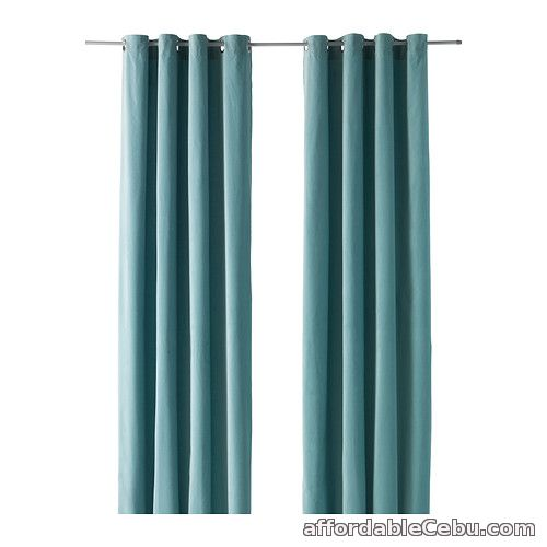 1st picture of Sanela Curtains - Light Turquiose (Product of Sweden) For Sale in Cebu, Philippines