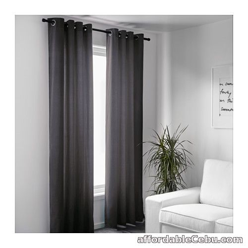 2nd picture of Sanela Curtains - Grey (Product of Sweden) For Sale in Cebu, Philippines