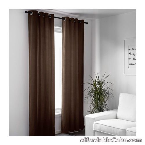 2nd picture of Sanela Curtains - Dark Brown (Product of Sweden) For Sale in Cebu, Philippines
