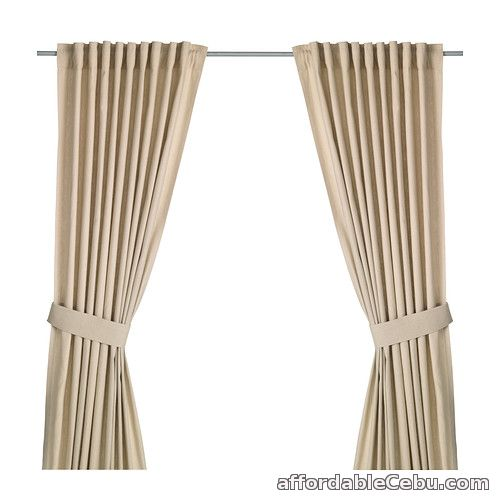 1st picture of INGERT Curtains (Product from Sweden) Beige For Sale in Cebu, Philippines