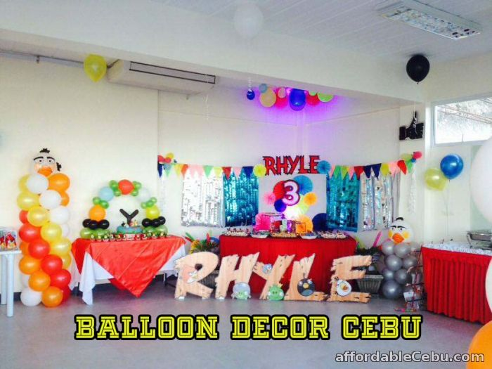 Affordable balloon decoration packages for sale cebu city for Balloon decoration packages manila