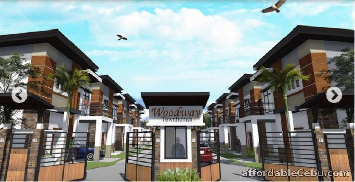 1st picture of Fully Furnished or free motor bike for the house buyer in woodway townhomes For Sale in Cebu, Philippines
