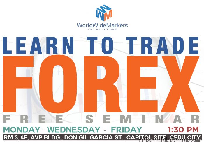 1st picture of Learn To Trade Forex Offer in Cebu, Philippines